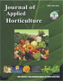 Journal Of Applied Horticulture